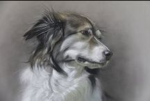 AmyLittleArt's Dog Art / Dog art, dog portraits, pastel, watercolor, watercolour, canine, charcoal, drawings, dog drawings, canine drawings, stray dogs, shelter dogs, dog shelter, dog rehoming, dog pound, animal art, rescue dogs, dog re-homing, Greek dogs, dog paintings, dog sketches, dog sketch, dog painting,