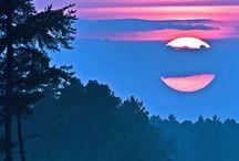 Amazing sunsets/ sunrise