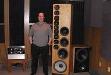 speakers / speakers, monitors, headphones, ear-speakers, reproduction transducers, cabinets, PA's / by Marcus Buick