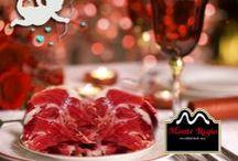 Celebraciones Románticas Monte Regio / Celebra ese día tan especial con tu pareja, disfruta de su compañía y, sobre todo, sorpréndela con el mejor regalo de la dieta mediterránea : Degusta el auténtico sabor del jamón ibérico Monte Regio