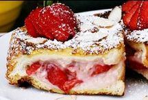 Food - Breakfast / A collection of great breakfast recipes - breakfast casseroles, French toast recipes and more!