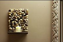 DIY - Rock Projects / All things made of rock - art, home décor accents and more!