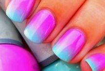 Nails, Hair & Make-Up / Nail design and make-up colors and products. I