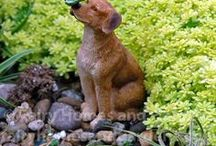 Fairy Pets / Miniature animals for fairy gardens