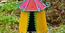 Gypsy Fairy Garden / Fairy Gardening with Gypsy Garden Theme