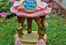 Fairy Tale Theme Fairy Garden / Miniatures for a Fairy Tale Themed Fairy Garden