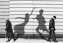 """♫ Dance with Me ♫ / """"Dance first, think later! It's the natural order!"""" (Samuel Beckett).                Black and white / by Liz Prado"""