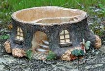 Planters and Containers / Containers suitable for fairy gardens and miniature gardens.