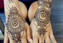 Henna / One of the most beautiful types of art