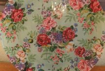Fabric Decoupage / Decoupage in fabric...just as much fun!