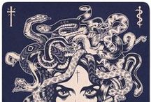Project Medusa / My inspiration board for a medusa tattoo