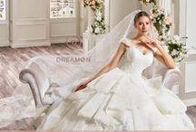"""DreamON True Love Koleksiyonu / DreamON Yeni ve beklenen koleksiyonları """"True Love"""" gelinlik modelleri ile """"Rock That Night"""" abiye modelleri DreamON mağazalarına ulaşmaya başladı bile. www.dreamon.com.tr"""