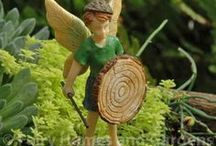Fairy Boys / Miniature Boy Fairies for Fairy Gardening