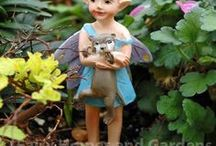 Swamp Land Fairy Garden / Fairy Gardening with fairies and trolls from Swamp Land