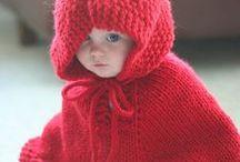 vetements enfants (surtout fillette) / gilet, robe, pull / by françoise hanguehard