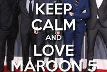 Maroon 5 ❤ / My favourite band ever!!!! / by Ami Huyton