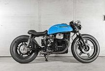 Motorcycles / Mostly custom motorcycles. I generally hate crotch rockets. / by Jansie Blom