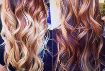 // OMBRE & HAIR COLOUR INSPO / hair colour & ombre ideas