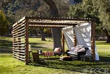 Shed Loads of Inspiration / Spark your imagination with these ingenious shed ideas. Add storage to your garden and make the most of your outdoor space. Buildings for the garden we love pergolas, arches, arbours sheds, storage solutions & log stores.