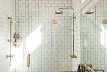 Stunning Shower Spaces / Tips on how to maximise the space in your small shower room or what to do if you fancy a refresh.