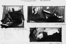 STORYBOARD WITH ME / Looking into creating stories visually ?