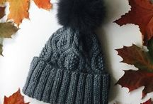 Knit & crochet hat