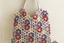 Knit & crochet bag