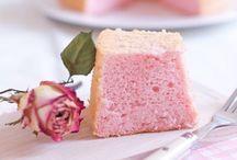 Chiffon cake / ふわふわで、色んな味を楽しめる。 今日はどんなシフォンを楽しもうかな…ワクワク手作り♪
