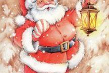 J - vintage christmas