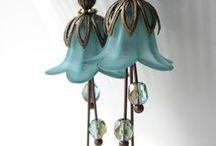 B - earrings