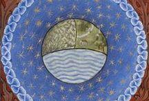 celestial map from  / by Anna Nenarokova