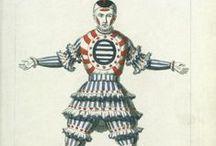 Carnival, theatre costume.Historical fashion