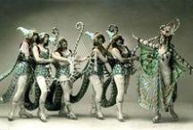Autour des costumes de scènes - stage costumes