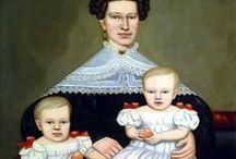 children's and family portrait Century 18-19