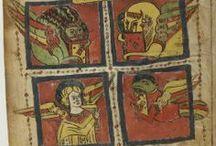 τετραμορφος --symbols of the Evangelists