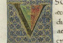 Initial letters- V v