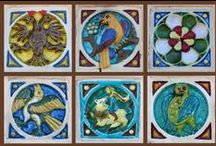 Old Russian tiles