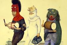 Carnival , theatre costume ,  Historical fashion - 2