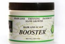 Hair Growth Products / Natural hair growth products for men and women with hair loss, thinning hair, and alopecia.