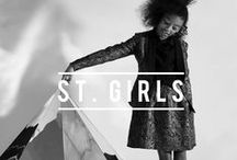 ST. GIRLS / Lookbook ST. Girls Autumn/Winter 2014