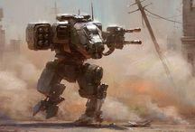 Futuristic warfare