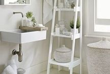 Storage / Some beautiful bathroom storage solutions.