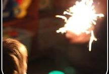 Bonfire / Guy Fawkes / Firework Night Fun for Kids / Firework party fun!  Crafts, activities and ideas for sensory play to celebrate firework nights.