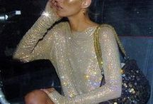 Iconic Party Looks / It's Party season!! All that glitter and sparkles...Iconic inspiration for best party looks, dresses and accessories. Get inspiration for your Christmas and New Year's Eve look.