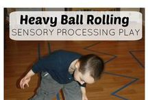 Sensory Activities for Home / Activities that you can do with your child at home.
