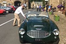Touring / Blanchland has always been a stop-off point for tourers of all shapes and sizes. We welcome them all at The Crewe - classic cars, cyclists, motor-bikers, even the odd charabanc! Always a spectacle for bystanders.