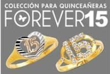 Forever  15 / Silver Collection, Earrings, Rings, Bracelets, Pendants