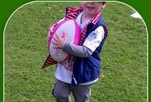 Rugby Fun for Kids / Lots of fun and games in preparation for the Rugby World Cup! / by Play & Learn Everyday