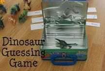 Dinosaur Fun for Kids / Everything dinosaurs!  Games, activities, toys and fun ideas for kids to learn and play with dinosaurs.