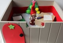 Christmas Crafts for Kids / Fun and easy craft ideas for young children to make this Christmas.
